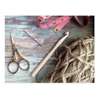 Crochet Tools Postcard