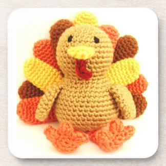 Crochet Turkey Beverage Coasters