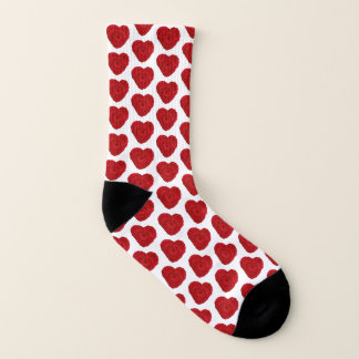 Crochet Yarn Heart Crafts Socks