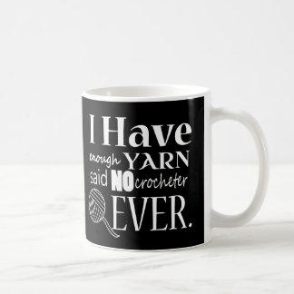 Crochet • Yarn Hoarder {Dark} Coffee Mug