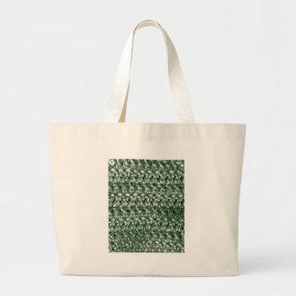 Crocheted-Look Jumbo Tote Bag