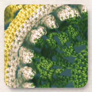 Crocheted Photo-Op Coaster