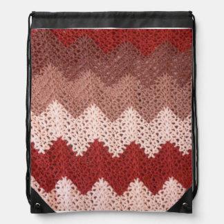 Crocheted Ripple Rucksack