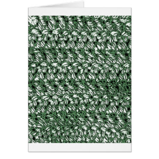 Crocheted Style Card