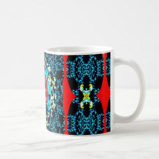 Crocheted Style Basic White Mug