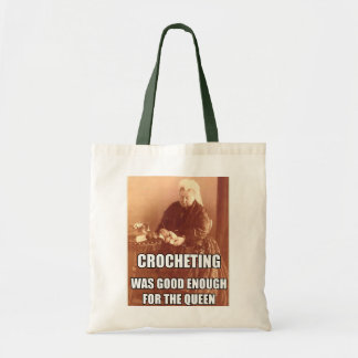 Crocheting: Good Enough for the Queen Tote Bags