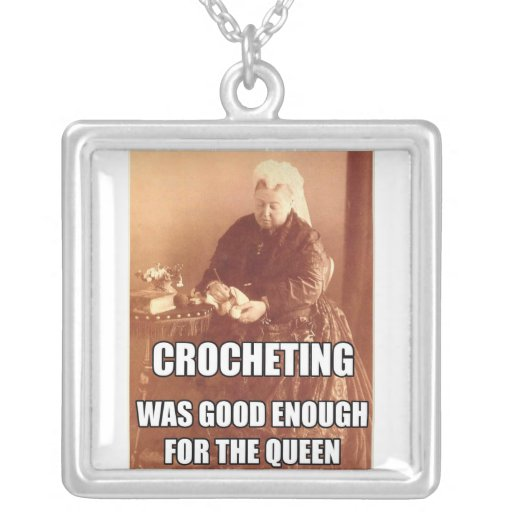 Crocheting: Good Enough for the Queen Jewelry