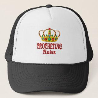CROCHETING RULES TRUCKER HAT