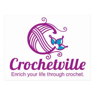 Crochetville Postcard