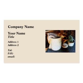 Crock and Barrel Business Cards