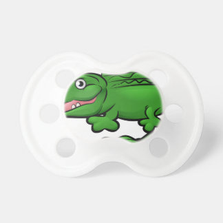 Crocodile Alligator Animal Cartoon Character Pacifier