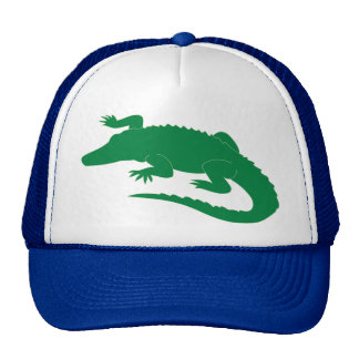Crocodile Alligator Gator Reptile Trucker Hats