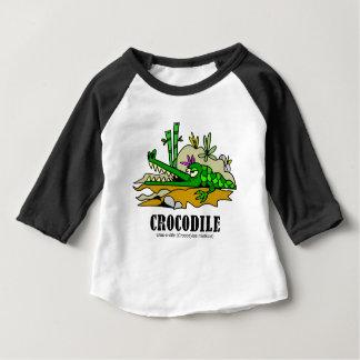 Crocodile by Lorenzo © 2018 Lorenzo Traverso Baby T-Shirt