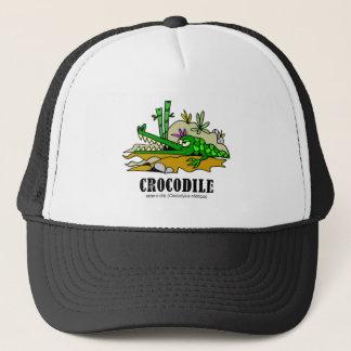 Crocodile by Lorenzo © 2018 Lorenzo Traverso Trucker Hat