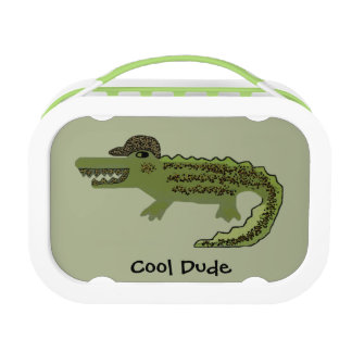 Crocodile Cool Lunch Box
