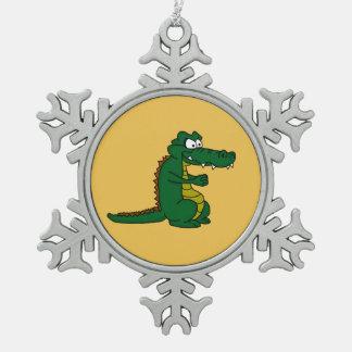 Crocodile design custom ornaments