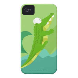 Crocodile from my world animals serie iPhone 4 case