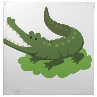 crocodile napkin