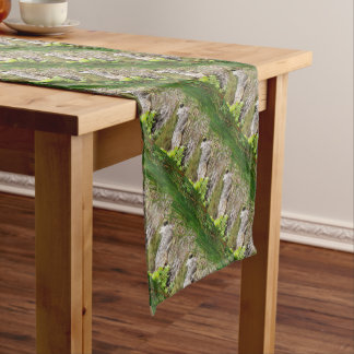CROCODILE QUEENSLAND AUSTRALIA SHORT TABLE RUNNER