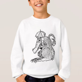 Crocodile rat sweatshirt