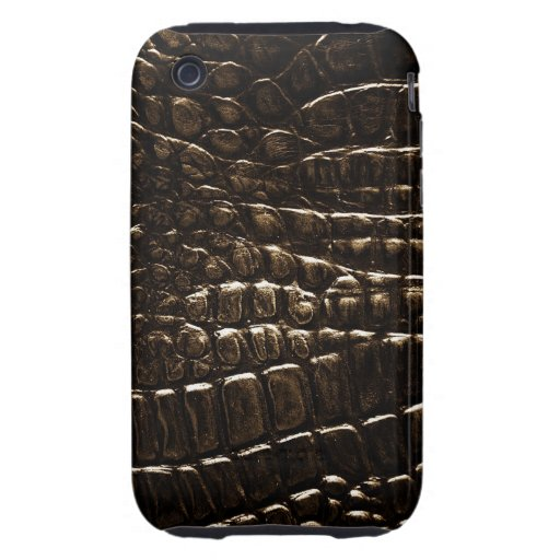 Crocodile Skin- Custom iPhone 3G/3GS Cases iPhone 3 Tough Covers