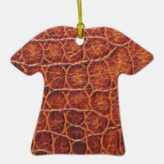 Crocodile Skin Ceramic T-Shirt Decoration