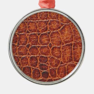 Crocodile Skin Christmas Ornament