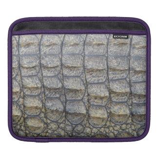 Crocodile Skin iPad Sleeve