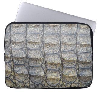 Crocodile Skin Laptop Sleeve