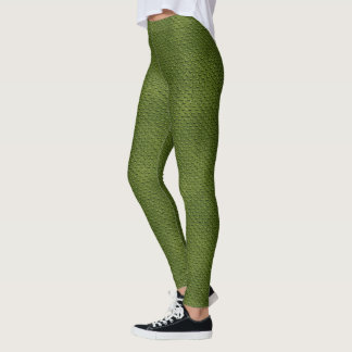 Crocodile Skin Pattern Leggings