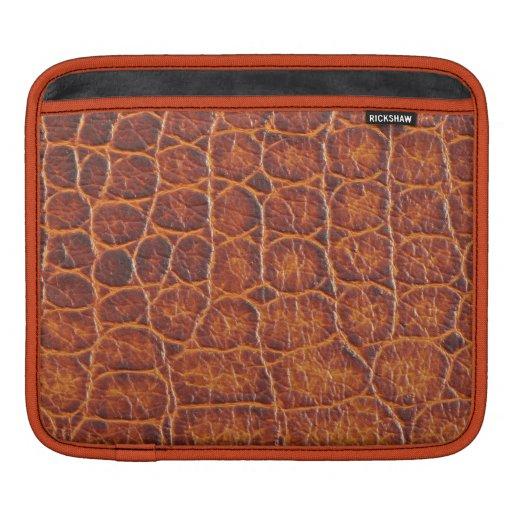 Crocodile Skin Print iPad Sleeve