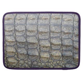 Crocodile Skin Sleeve For MacBooks