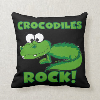 Crocodiles Rock Cushion