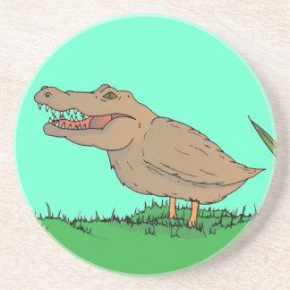 Crocoduck Coaster in colour!
