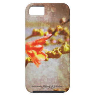 crocosmia flowers case for the iPhone 5