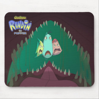 CrocPond's RINDIN the Puffer Mousepad