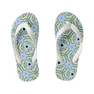 Croc's Teeth Kids Flip Flops Thongs