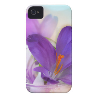 Crocus and Lily of the Valley Floral Arrangement . Case-Mate iPhone 4 Cases