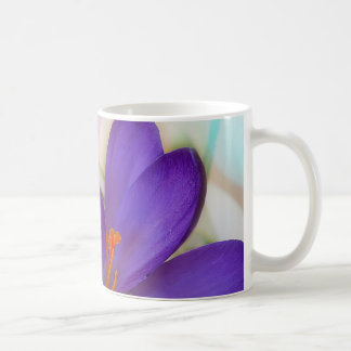 Crocus and Lily of the Valley Floral Arrangement . Coffee Mug
