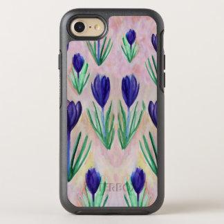 Crocus Flowers Watercolor Case
