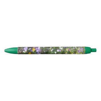 Crocus Multicolor Spring Flowers Green Pen