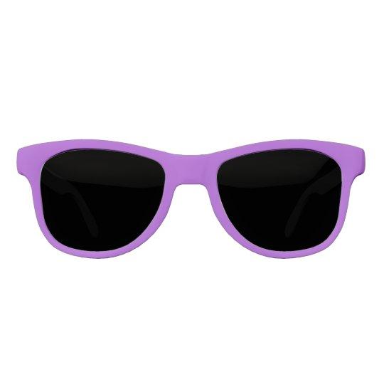 Crocus Purple Solid Colour Sunglasses