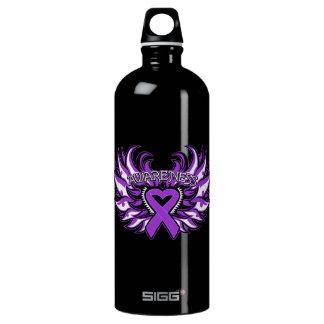 Crohn's Disease Awareness Heart Wings SIGG Traveller 1.0L Water Bottle