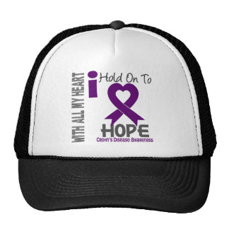 Crohns Disease I Hold On To Hope Cap