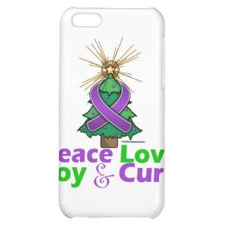 Crohn's Disease Peace Love Joy Cure iPhone 5C Cover