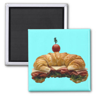 Croissant Sandwich Magnet
