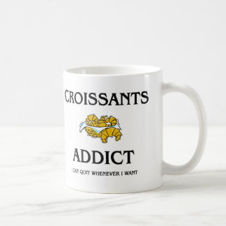 Croissants Addict Coffee Mug