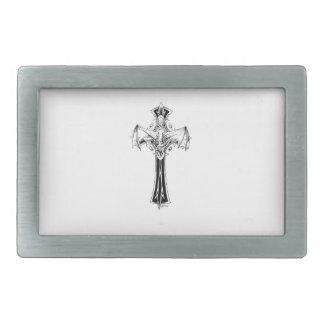 Croix gothique belt buckle