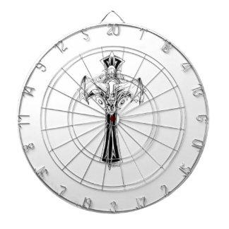 Croix gothique dartboard