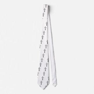 Croix gothique tie